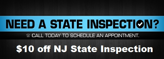 State Inspection coupon in Hillsborough, NJ